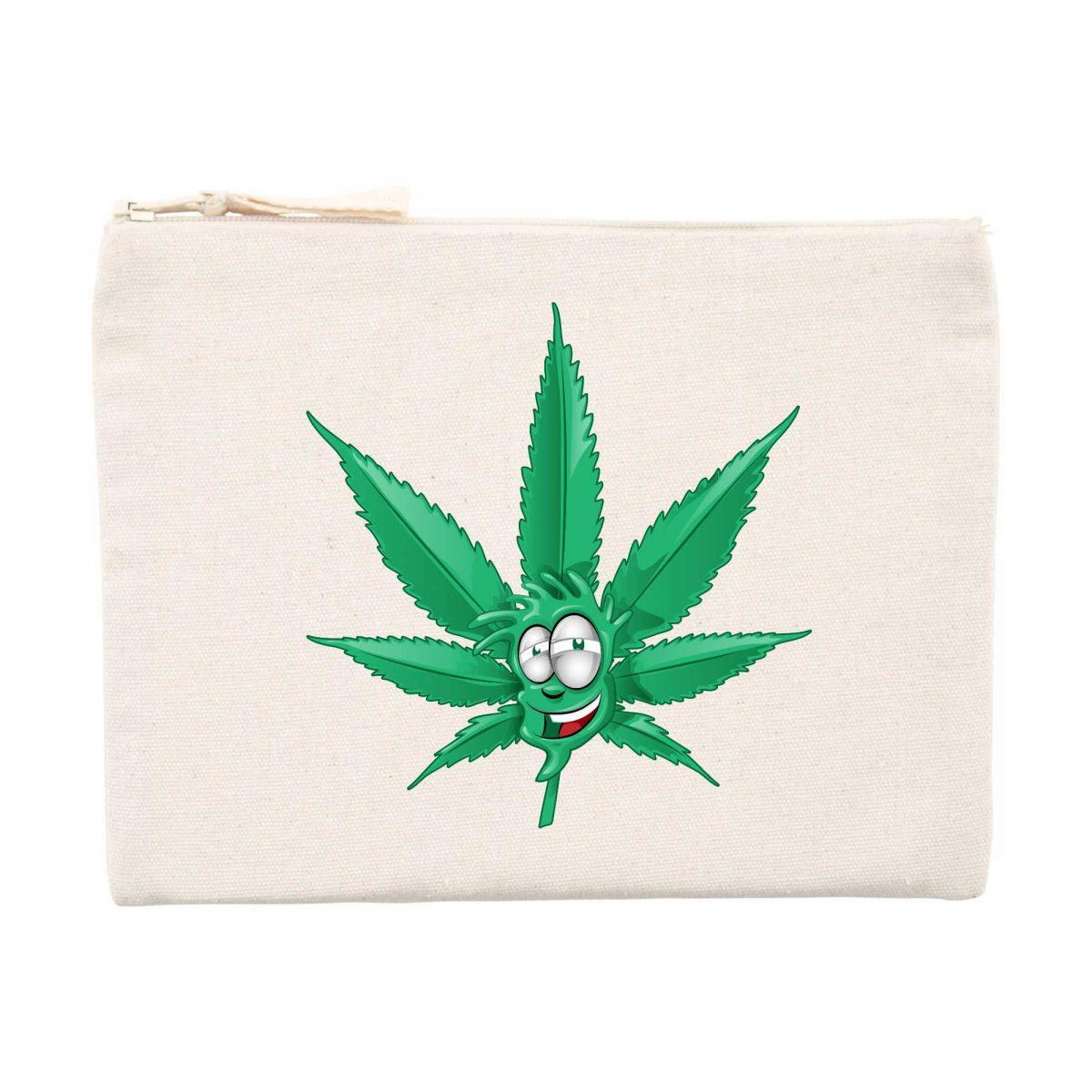 Pochette Made In Chanvre - Feuille de Cannabis