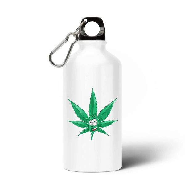 Gourde Made In Chanvre - Feuille de Cannabis