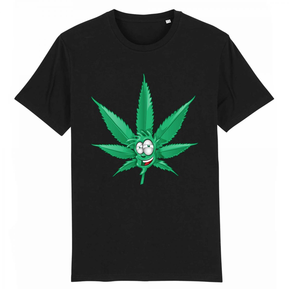 T-shirt Unisexe - Coton BIO Made In Chanvre - Feuille de Cannabis