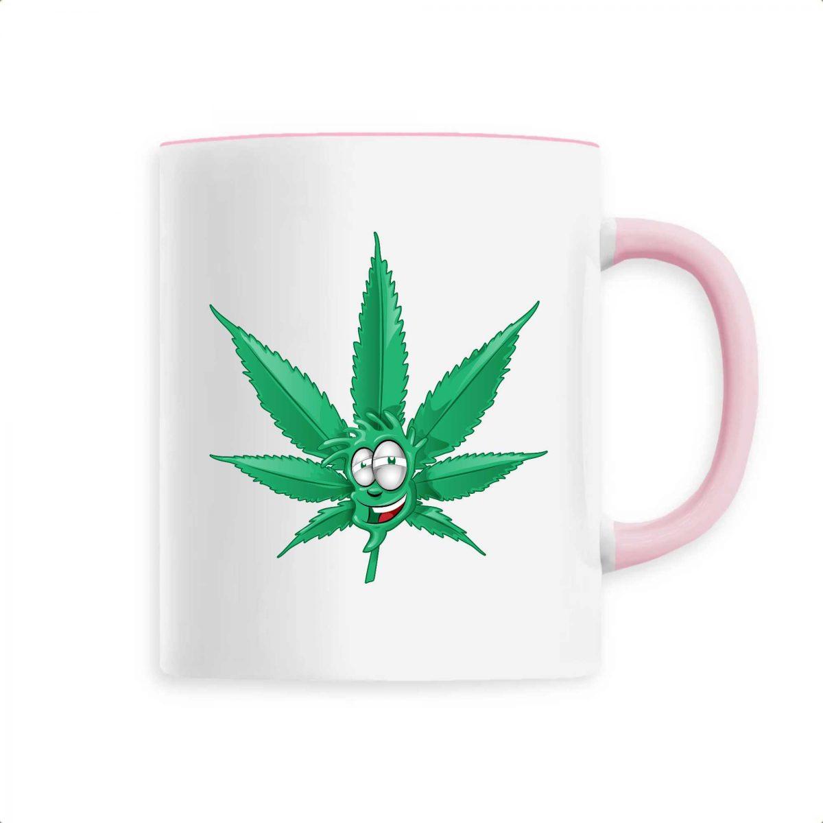 Mug Made In Chanvre - Feuille de Cannabis